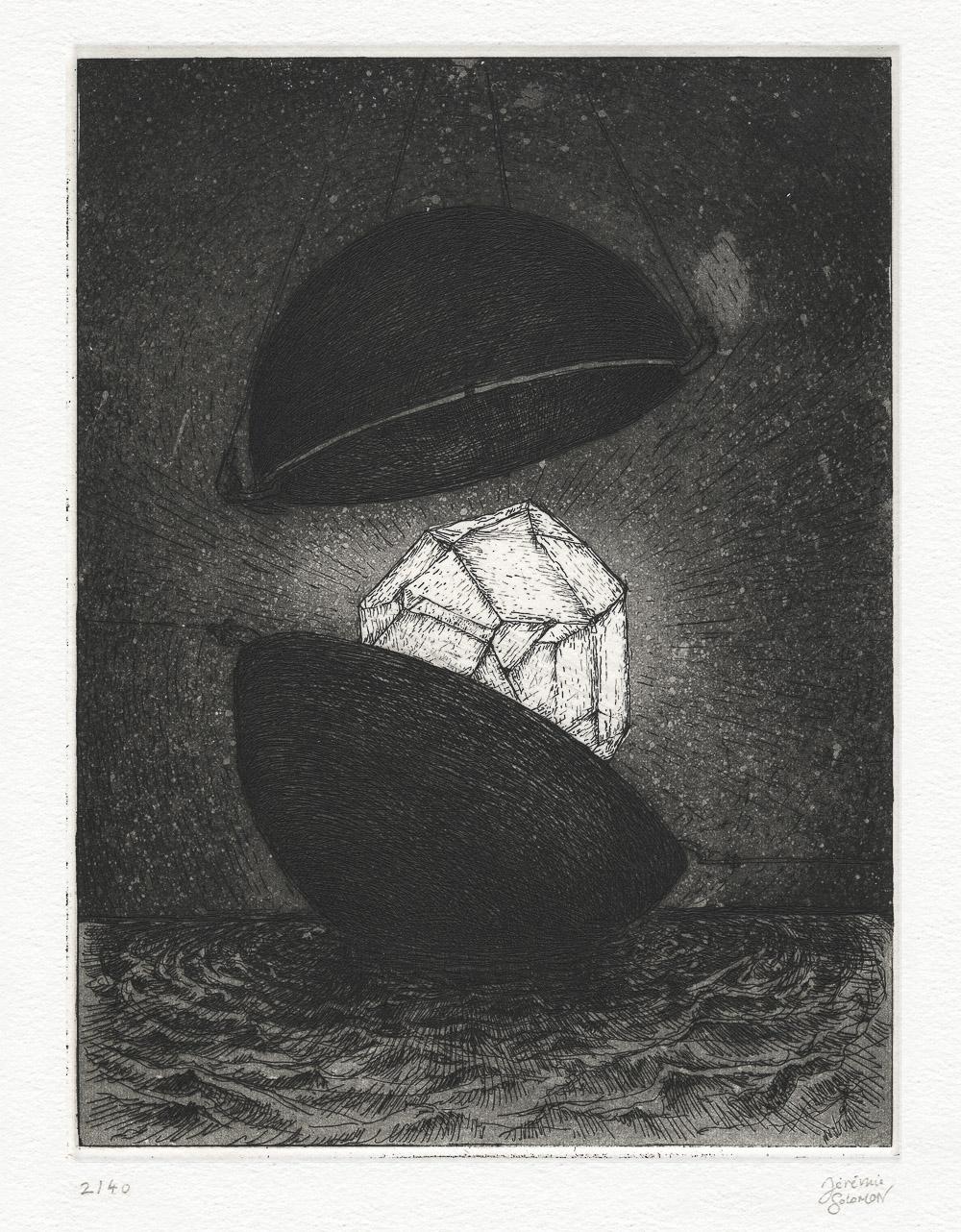 Jérémie Solomon - Prix Pierre Cardin - Hiérophanie : Capture (détail)