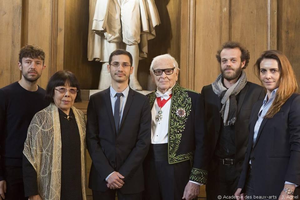 Jérémie Solomon, Prix Pierre Cardin, Académie des Beaux-arts